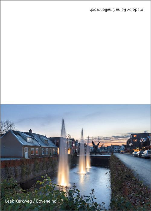 Boveneind - Kerkweg Leek
