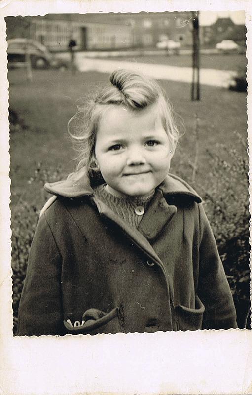Geretoucheerde Vintage Foto