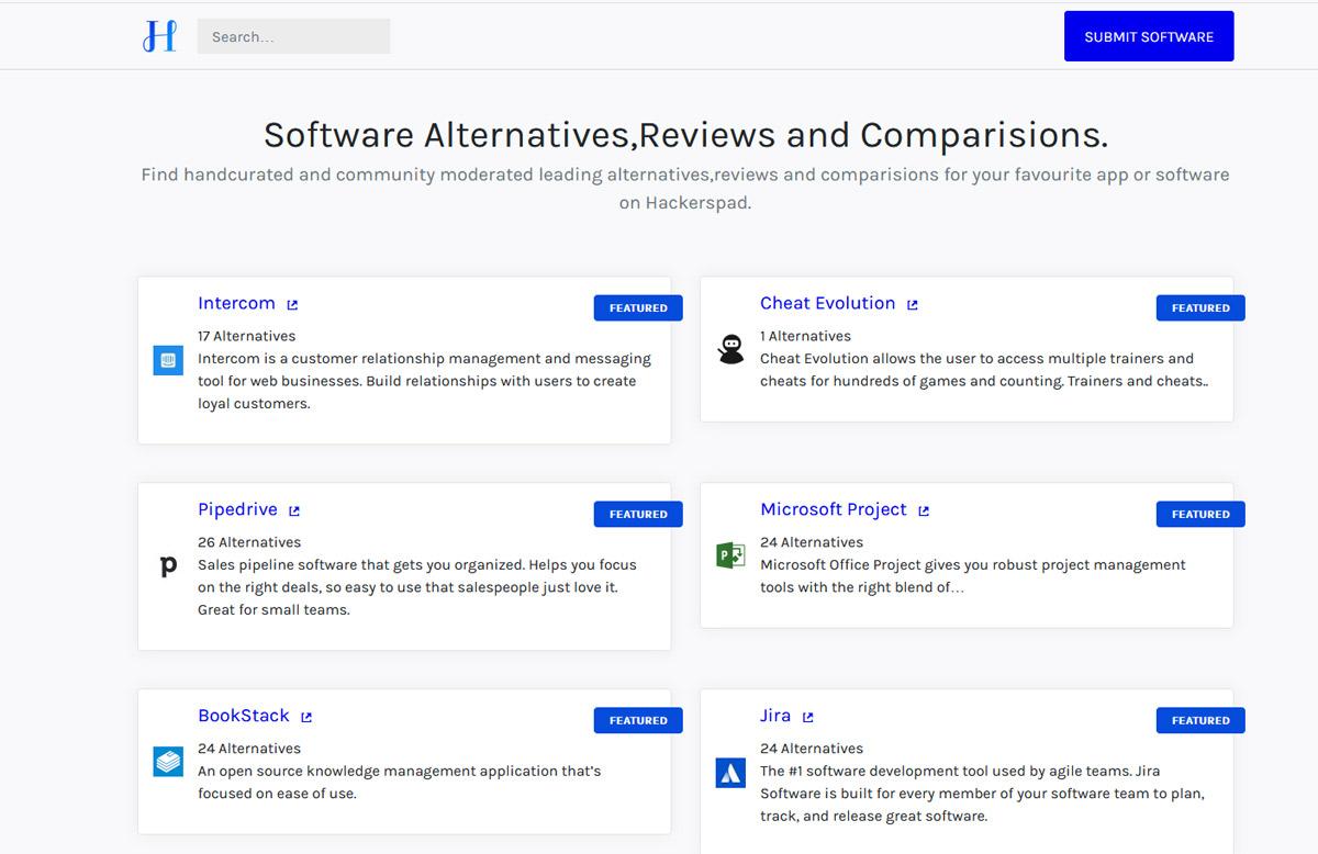 Software Alternatieven